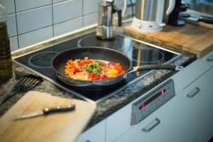 food on stove